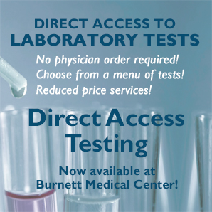Direct Access Lab Testing