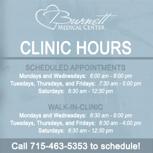 Expanded BMC Clinic hours now include evening and Saturday hours.