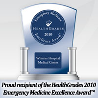 Whittier HOSPITAL medical Center Top 5% in Emergency Medicine