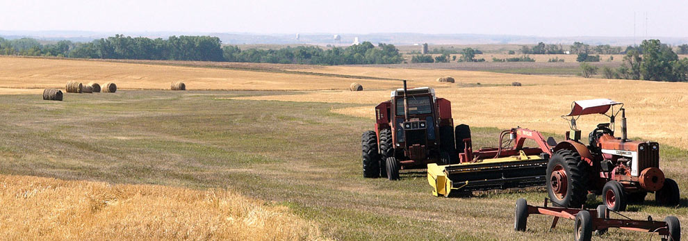 Harvest went well this year!  Thanks to all those who helped fill-in for those harvesting fields.