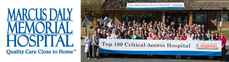 Marcus Daly Memorial Hospital named a 2013 Top 100 Critical Access Hospital