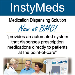 InstyMed automated prescription drug delivery systerm now at BMC!