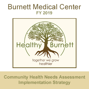 Healthy Burnett - Community Health Needs Assessment Implementation Strategy for 2019