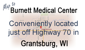 Map to Burnett Medical Center