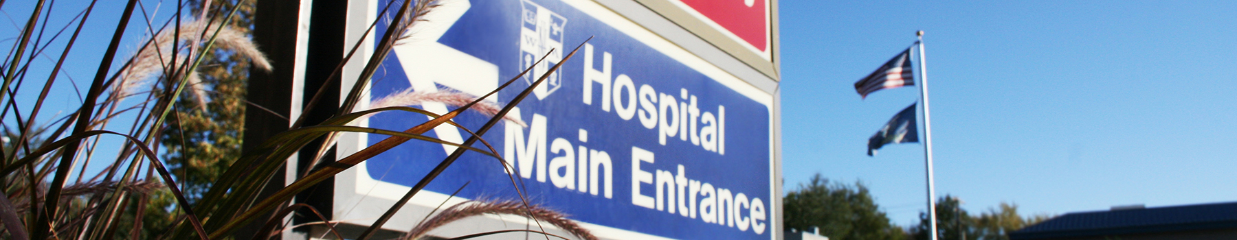 William Newton Hospital entrance