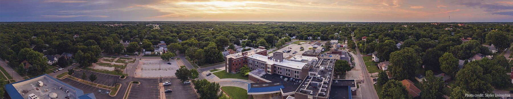 William Newton Hospital Aerial Skyler Livingston