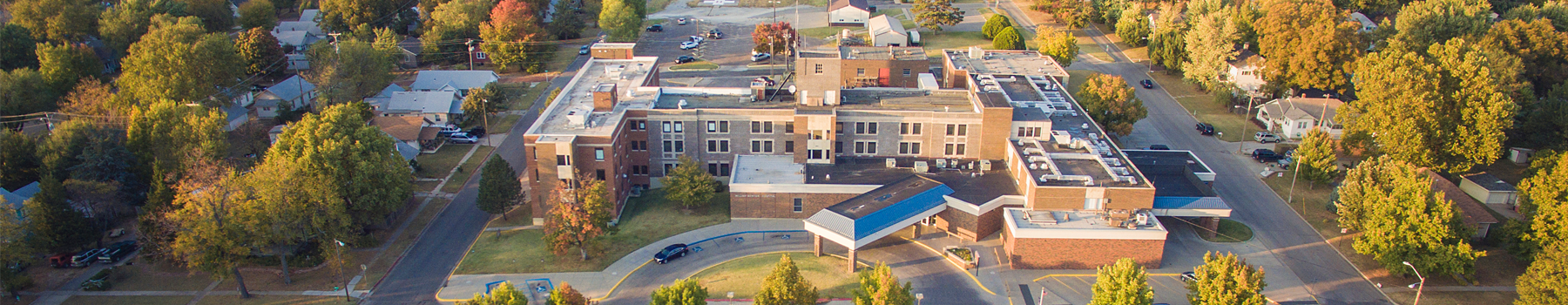 William Newton Hospital Aerial Skyler Livingston