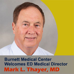 ED Medical Director, Mark L. Thayer, MD