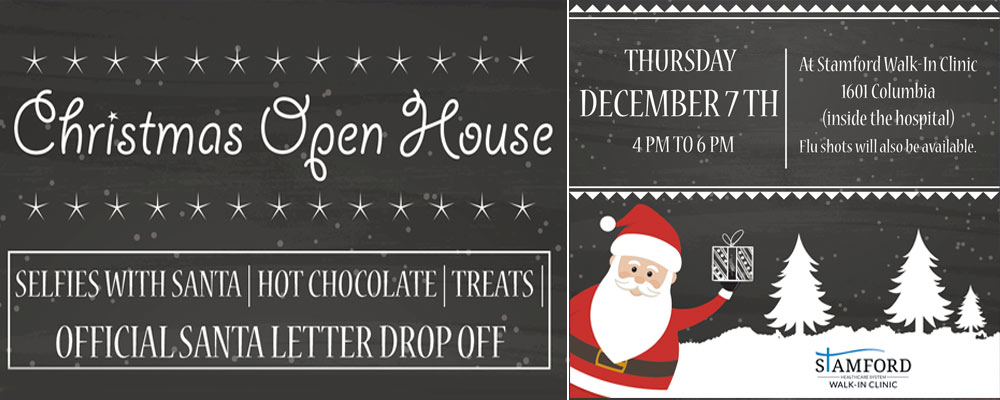Christmas Open House ad