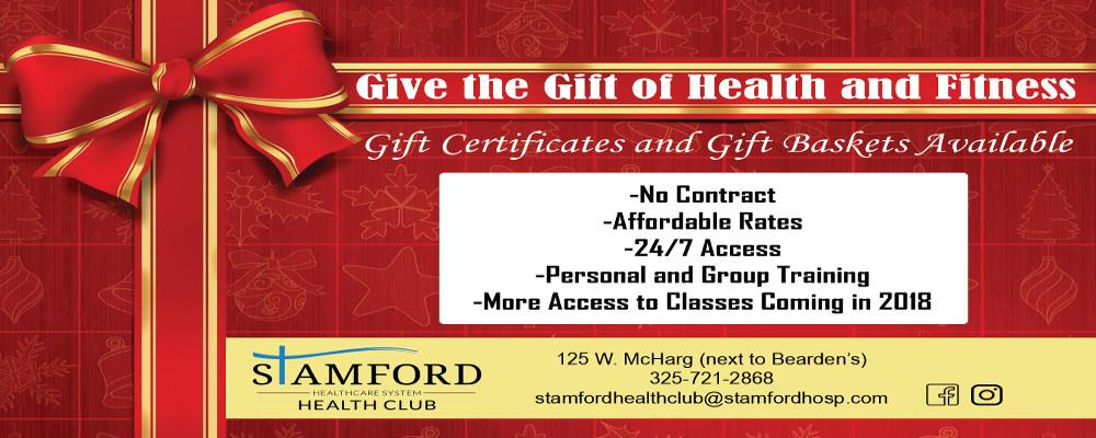 Health Club Christmas Ad