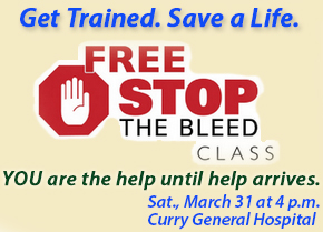 stop the bleed training class