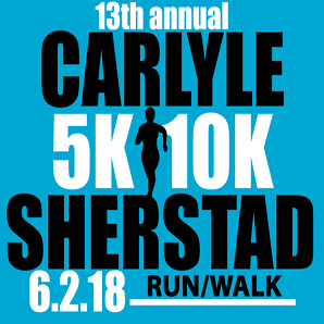 The Carlyle Sherstad 5K/10K race will be held on June 2 during Big Gust Days in Grantsburg, WI. For more information and to register visit the event page on Burnett Medical Center's web site.