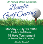 9th Annual BMC Foundation Golf Outing. Call 715-463-7340 for more information.