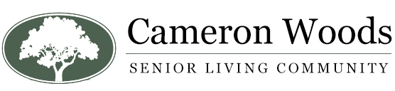 Cameron Woods, Senior Living Facility logo