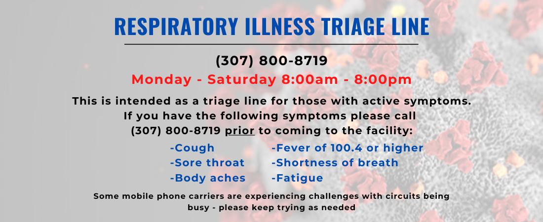 Respiratory Illness Triage Line