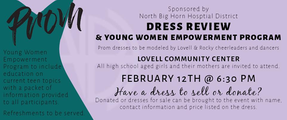 DRESS REVIEW & YOUNG WOMEN EMPOWERMENT PROGRAM