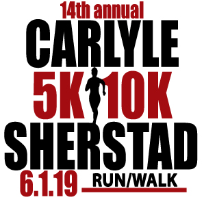 The 14th annual Carlyle Sherstad 5K/10K Run/Walk will be held on Saturday, June 1, 2019 in Grantsburg, WI. Call 715-463-7280 for additional information or go to the race page under Events on the Burnett Medical Center web site.