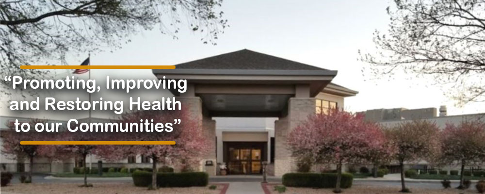 An image of Wilson Medical Center, promoting, improving and restoring health to our community