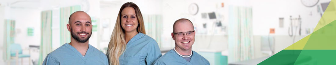 3 smiling Physicians