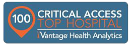 100 Critical access top hospital. Vantage health analytics.