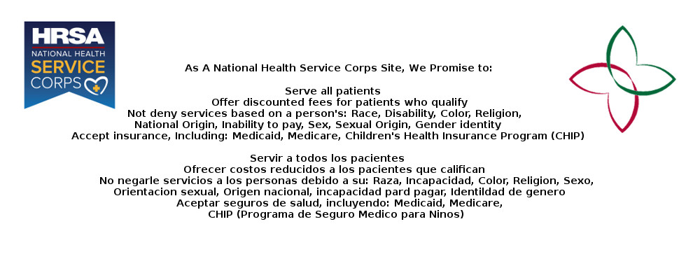 As A National Health Service Corps Site, We Promise to: