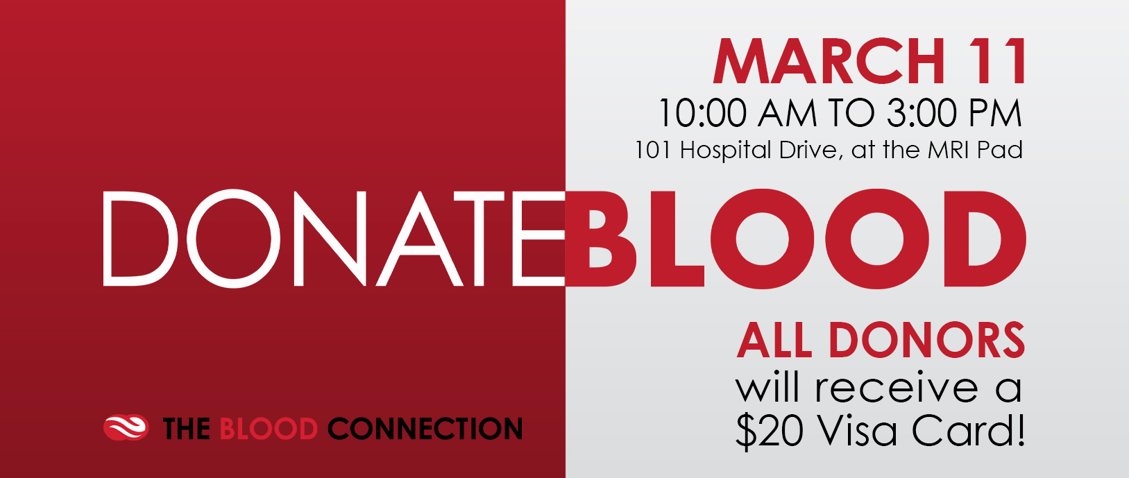 Giving back to the community is in our blood. It's the same for St. Luke's Hospital too. Your donation is greatly appreciated.