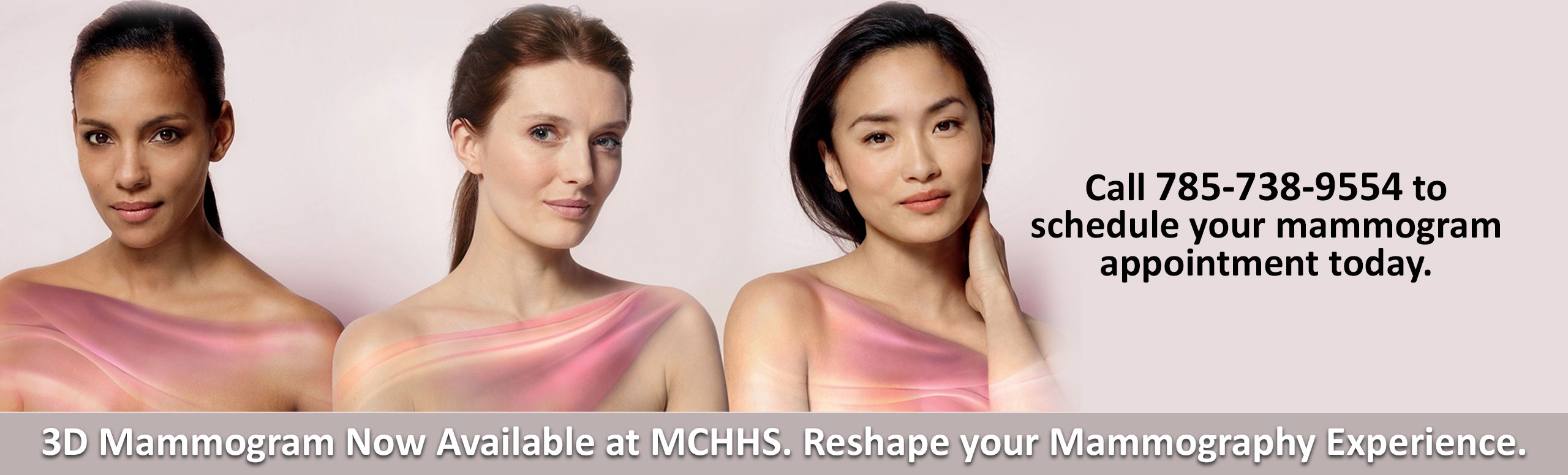 Three Dimensional Mammogram Now Available at Mitchell County Hospital Health Systems. Reshape your Mammography Experience.