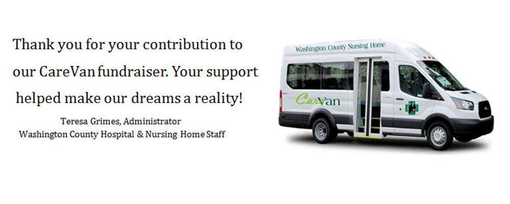 THANK YOU FOR YOUR CONTRIBUTION TO OUR CAREVANFUNDRAISER. YOUR SUPPORT HELPED MAKE OUR DREAMS A REALITY.