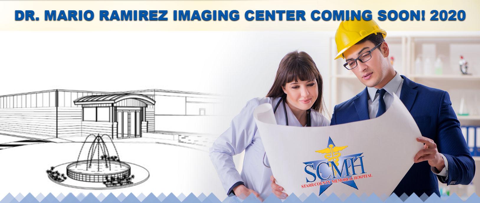 Dr. Mario Ramirez imaging center coming soon! 2020