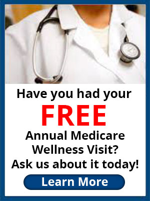 Have you had you Free annual Medicare Wellness visit?