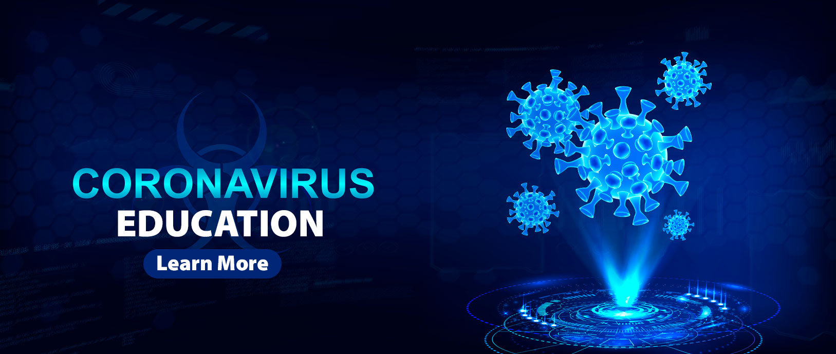 Coronavirus Education Learn More