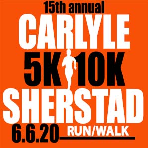 Carlyle Sherstad 5K/10K. Saturday, June 6, 2020 in Grantsburg, WI.