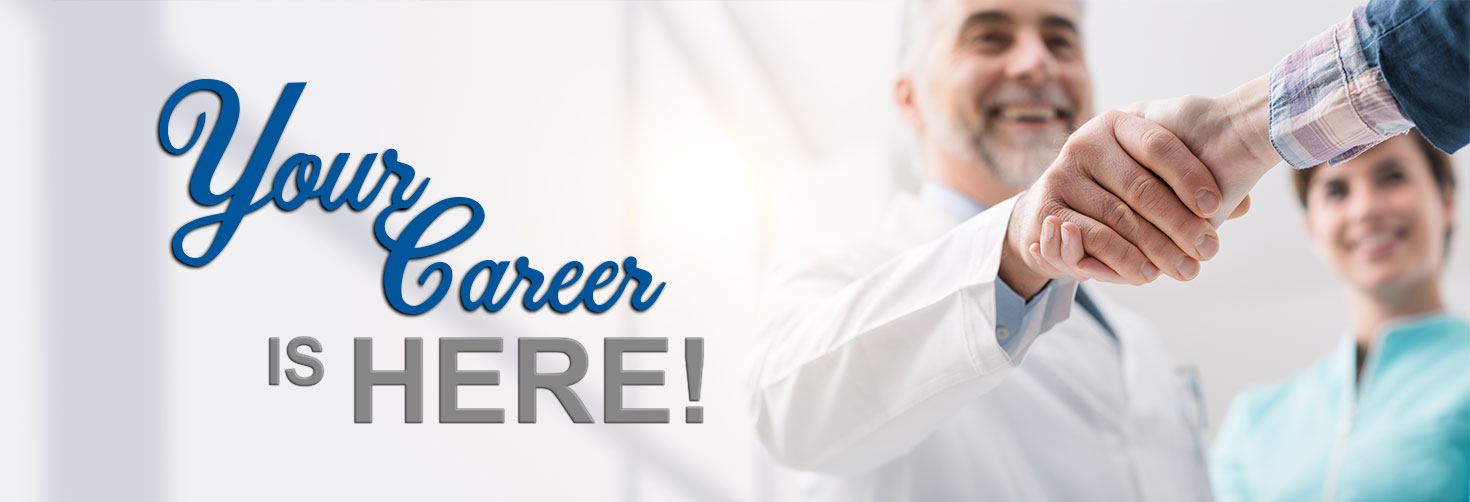 Your Career is here!