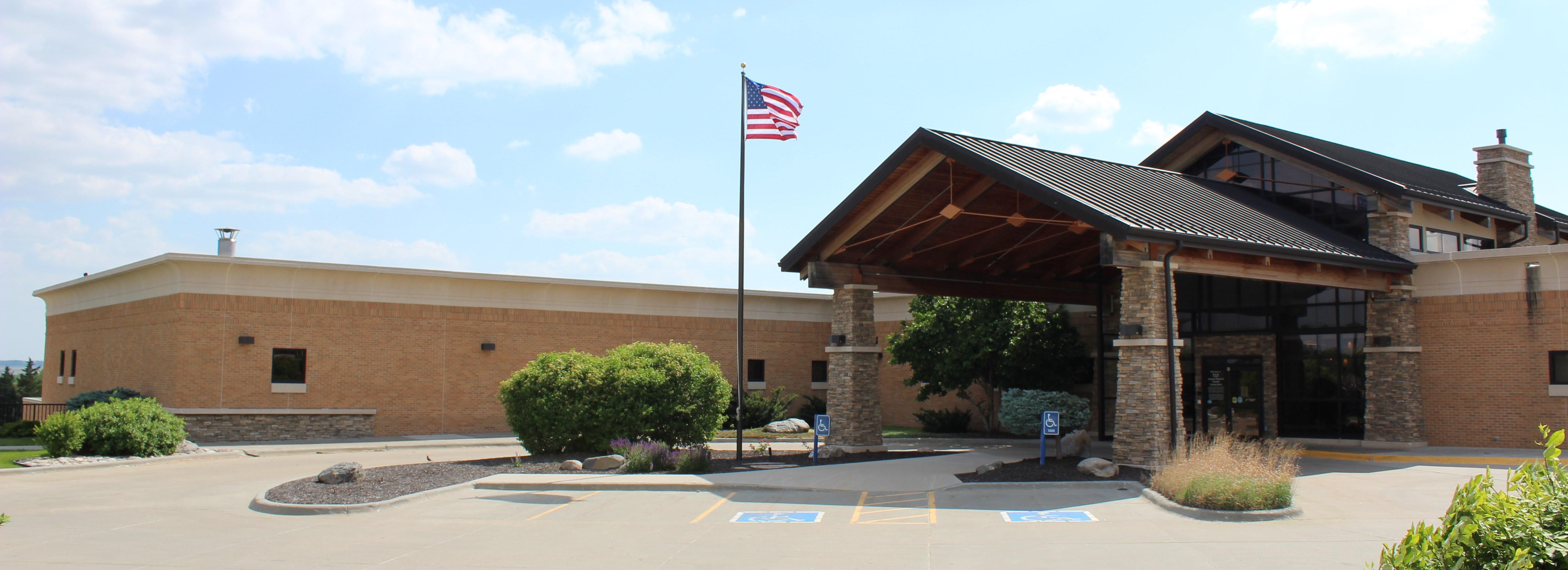 Antelope Memorial Hospital front entrance