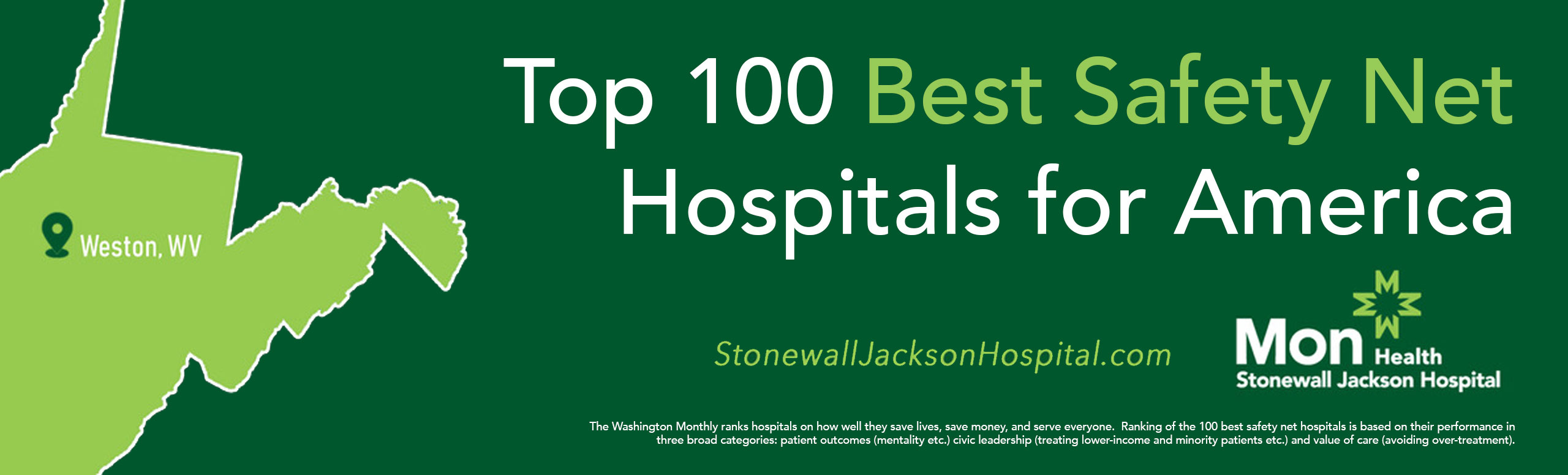 Top 100 Best Safety Net Hospitals for America