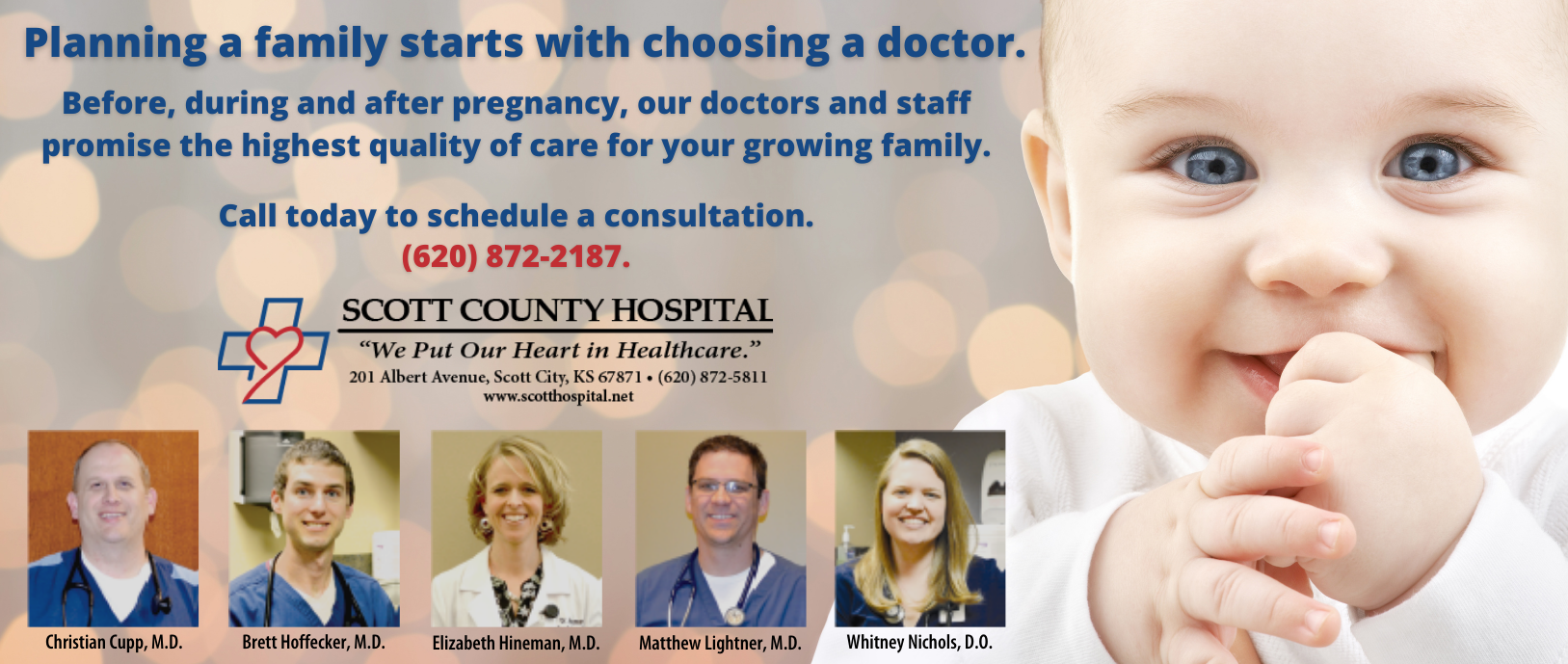 Planning a Family starts with choosing a doctor. Before, during and after pregnancy, our doctors and staff promise the highest quality of care for your growing family. Call today to schedule a consultation/.