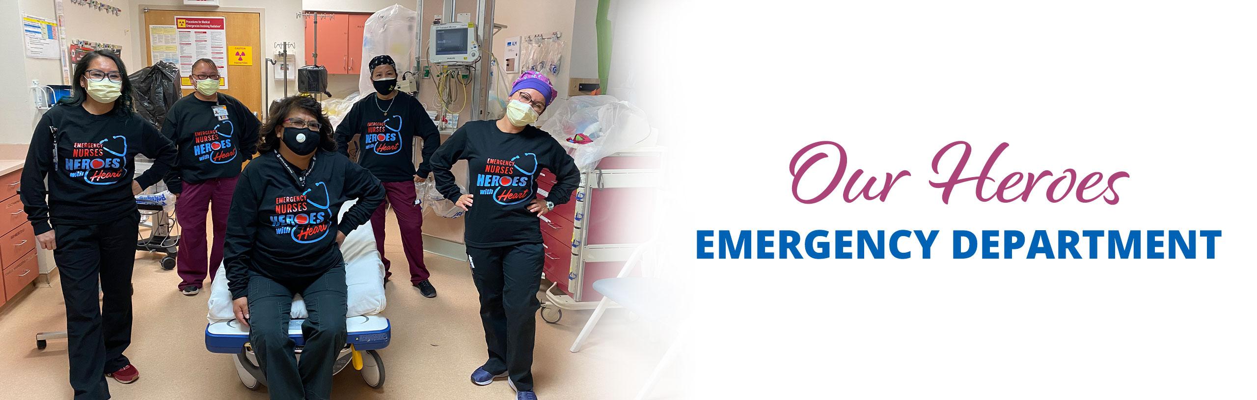 Our Heroes Emergency Department.