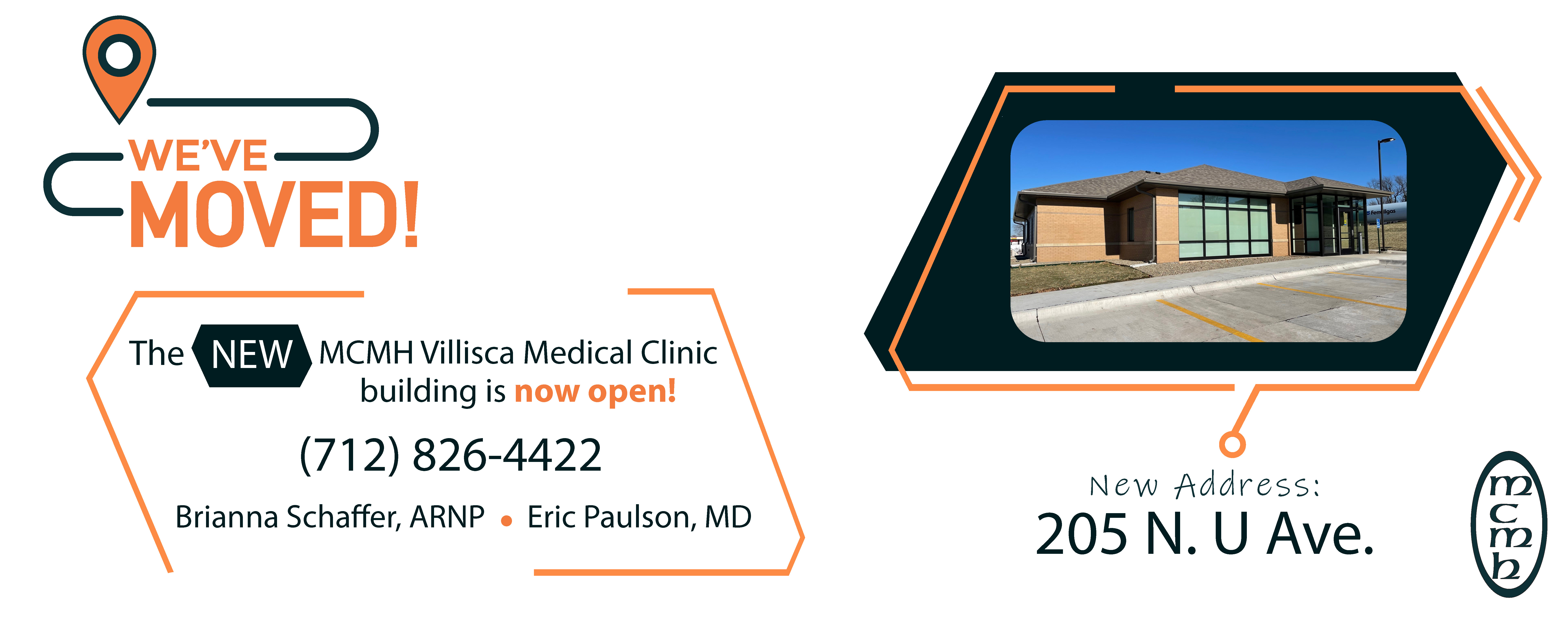 The new MCMH Villisca Medical Clinic building is now open!