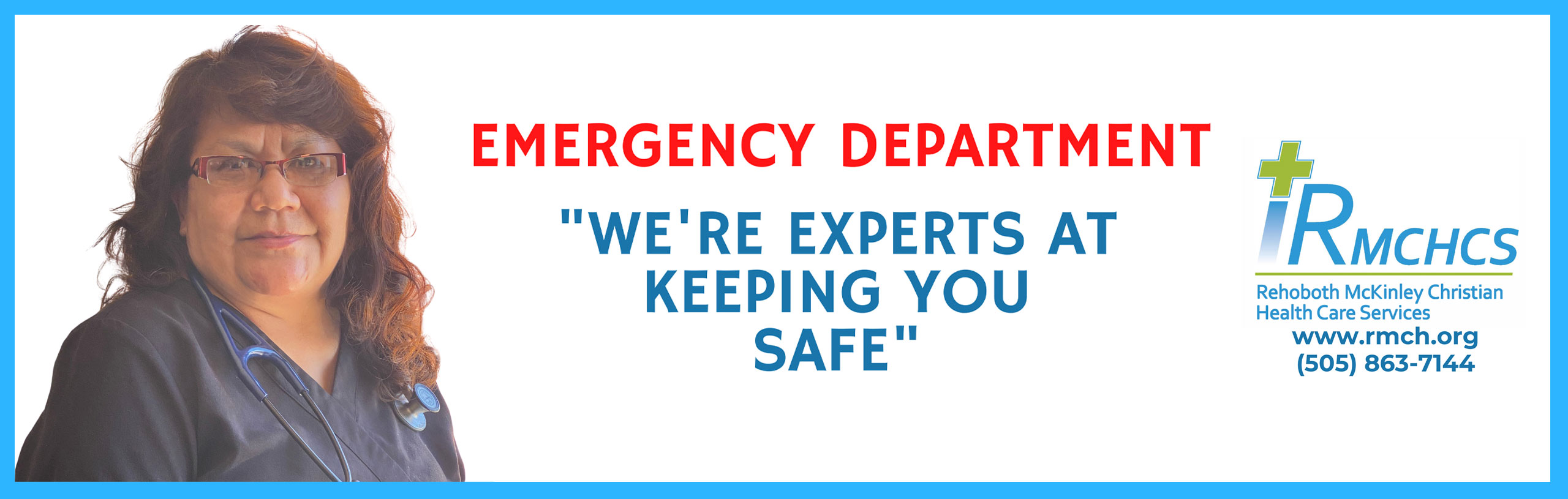Emergency Department We're experts at keeping you safe.