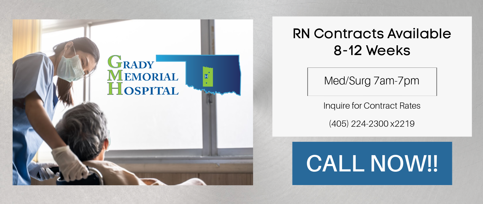 RN Contracts Available