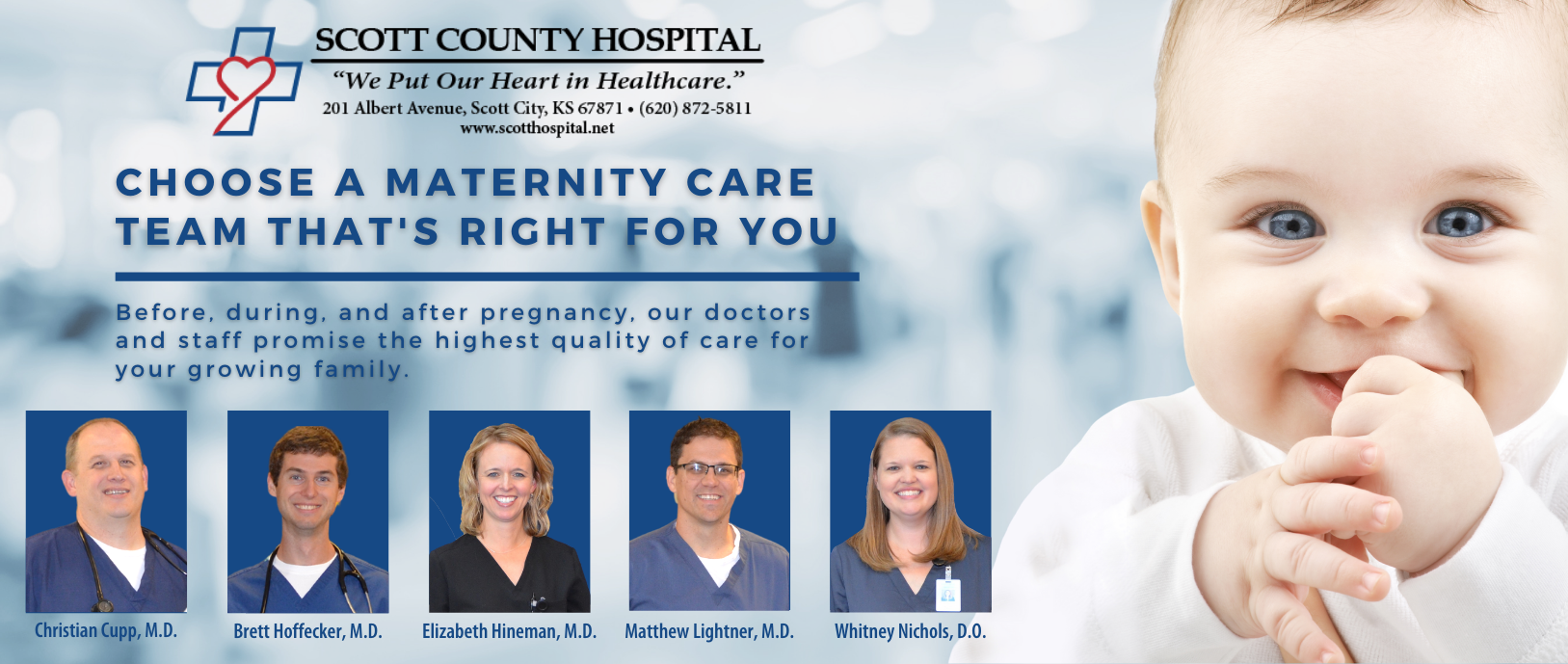 Choose a maternity care team that's right for you.
