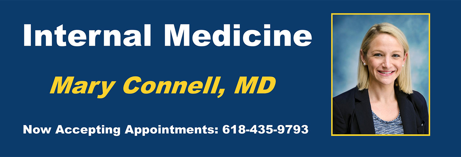 Internal Medicine   Welcome Mary Connell, MD  Now accepting appointments: 618-435-9793