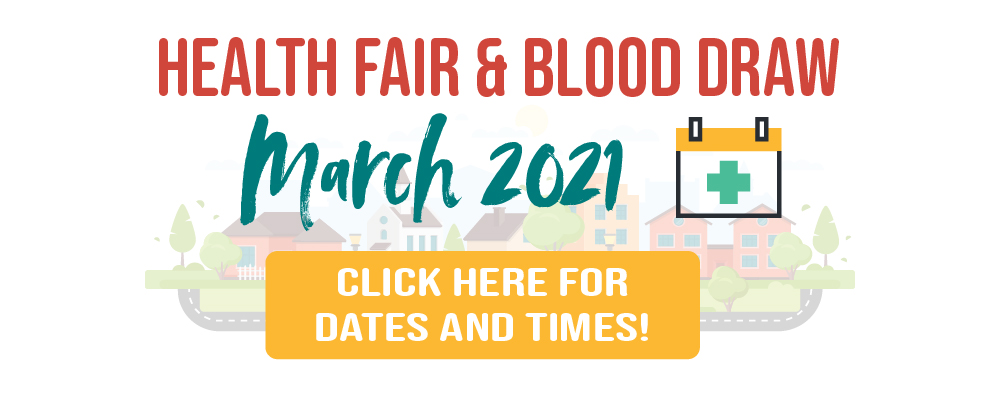 Health Fair and Blood Draw