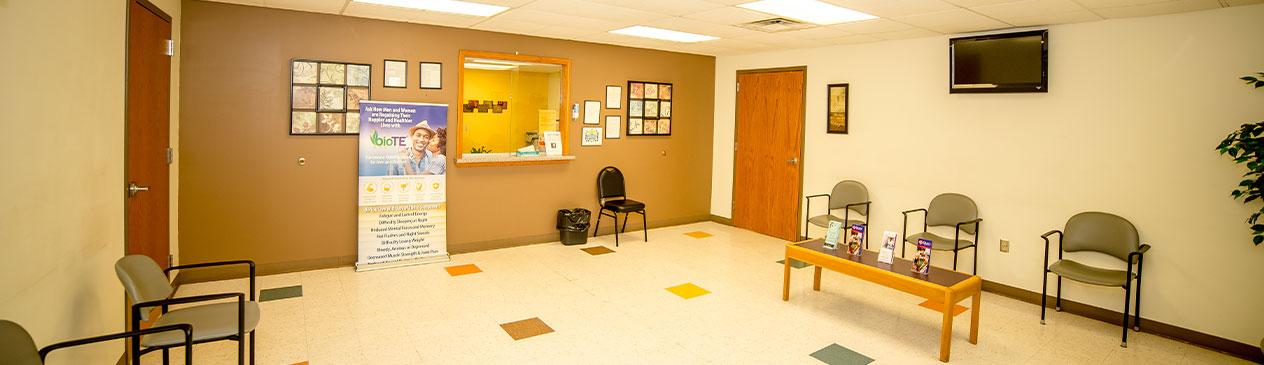 Rural Health Clinic Lobby
