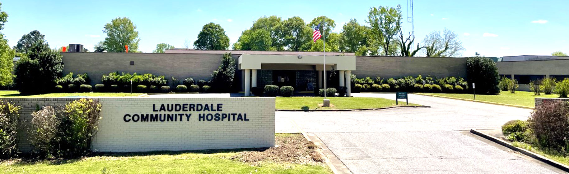 Front picture of Lauderdale Community Hospital
