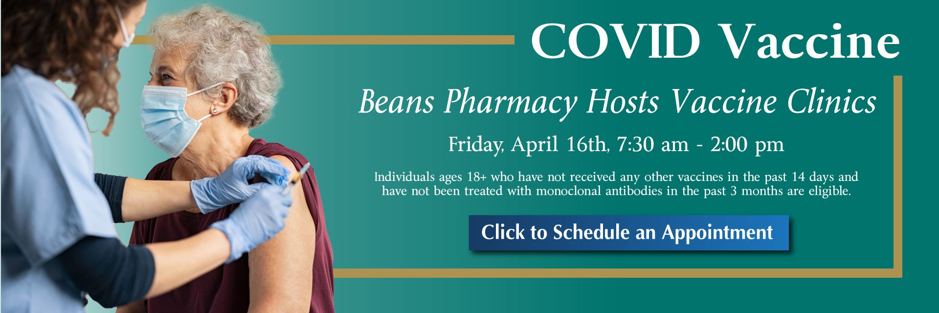 Sign up online to recieve a Moderna COVID Vaccine at WCHC.
