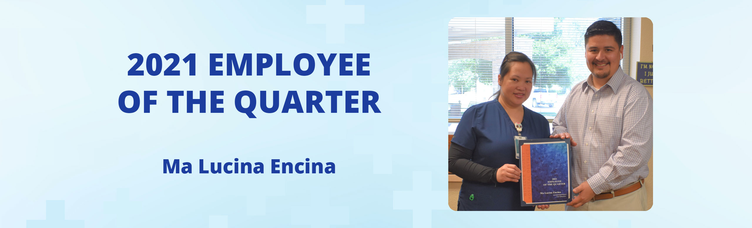 2021 Employee of the Quarter