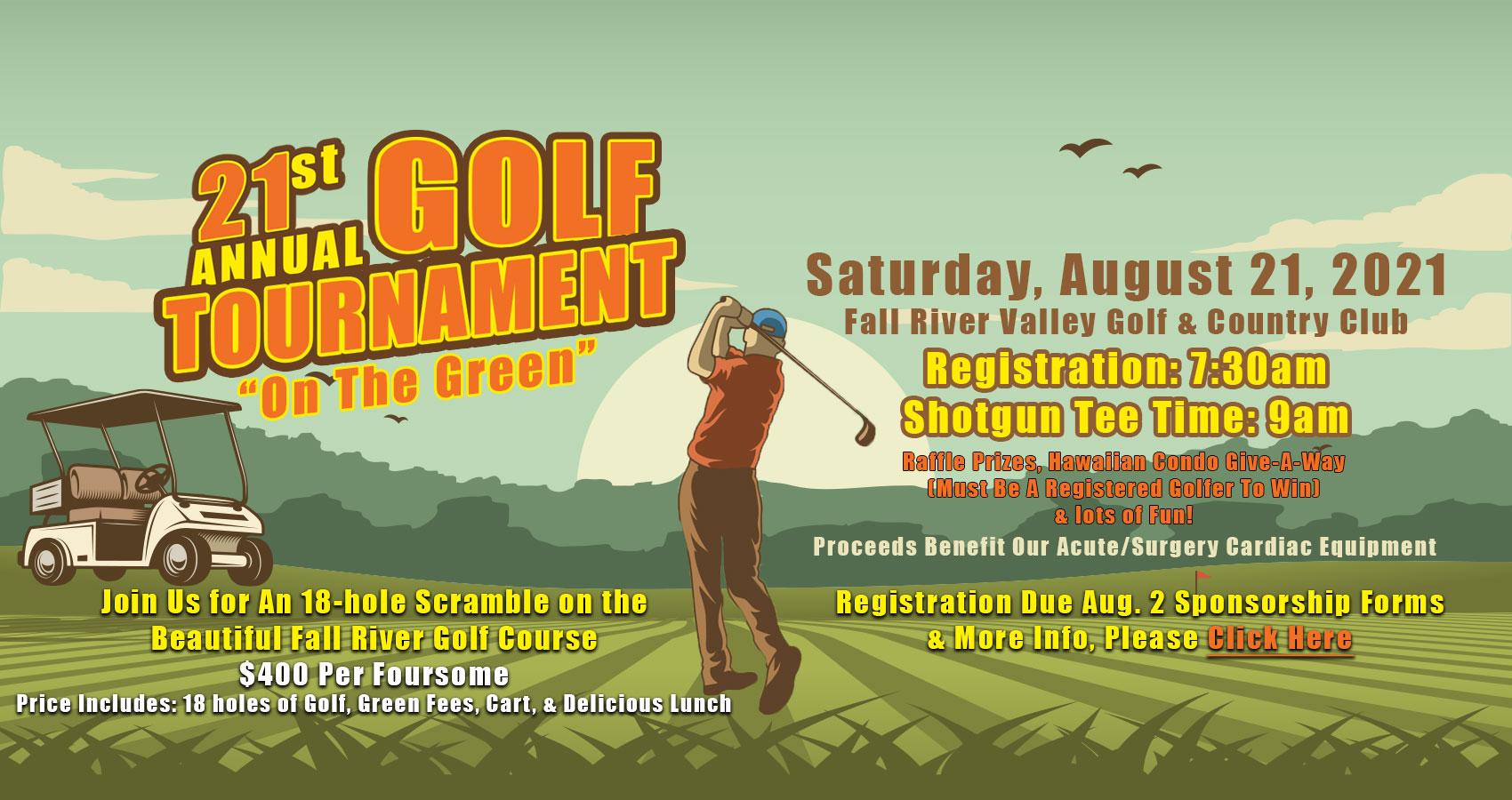 Golf Tournament Information   Click Here