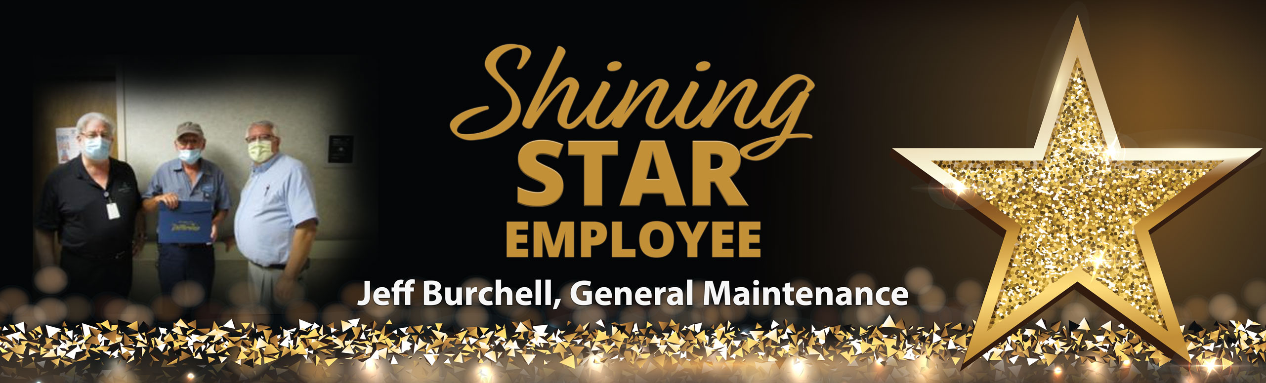 Shining Star Employee  Christie Potter, Certified Nursing Assistant