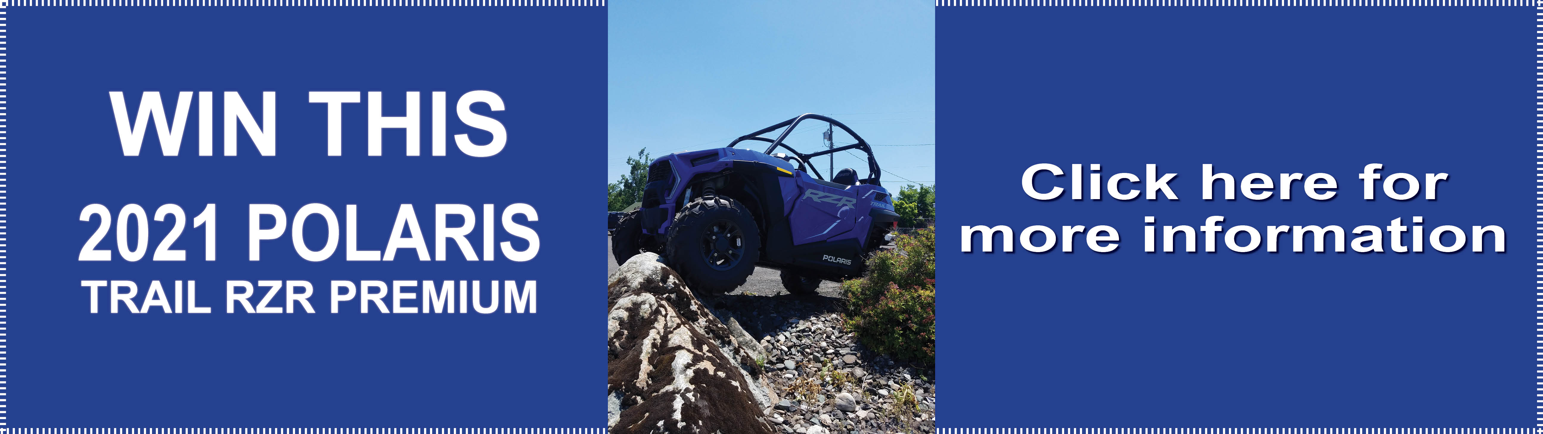 Click here for information on a Polaris raffle.